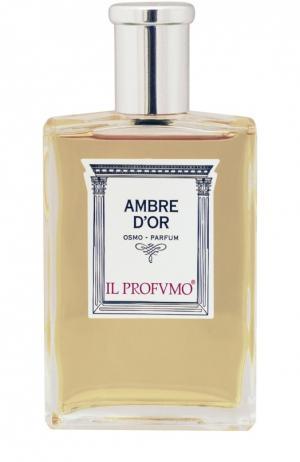 Парфюмерная вода Ambre DOr Il Profvmo. Цвет: бесцветный