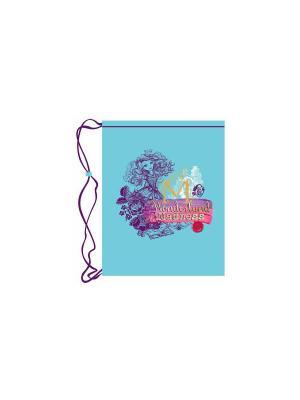 Мешок для обуви Premium Light Ever After High голубой Mattel. Цвет: голубой
