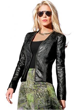 Куртка Maria Bellesi. Цвет: черный