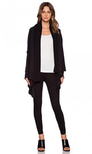 Облегающий свитер OAK. Цвет: черный