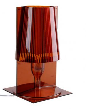 Настольная лампа KARTELL. Цвет: коричневый