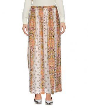 Длинная юбка LOCAL APPAREL. Цвет: светло-серый