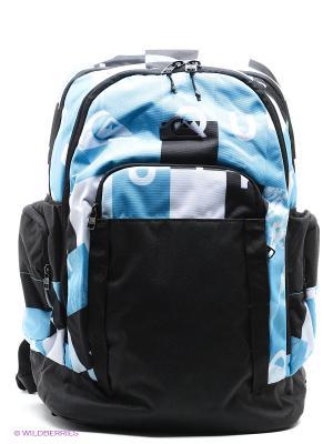 Рюкзак Quiksilver. Цвет: черный, голубой