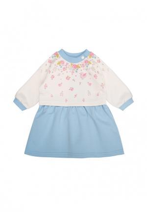 Платье Бимоша. Цвет: голубой