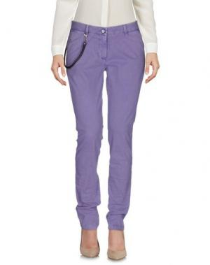Повседневные брюки MODFITTERS. Цвет: сиреневый