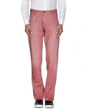 Повседневные брюки NICHOL JUDD. Цвет: пастельно-розовый
