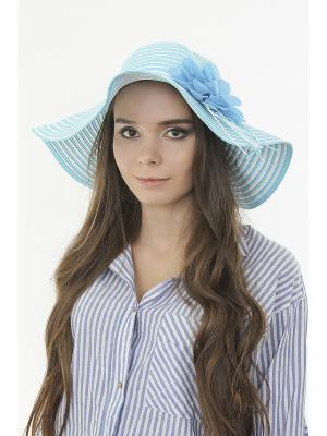 Шляпа Happy Charms Family. Цвет: голубой, белый