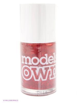 Лак для ногтей 14 мл, Glitter, Scarlet Sparkle Models Own. Цвет: розовый