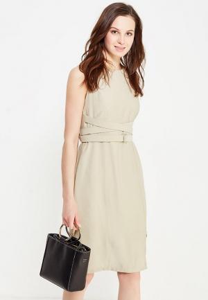 Платье Vis-a-Vis. Цвет: бежевый