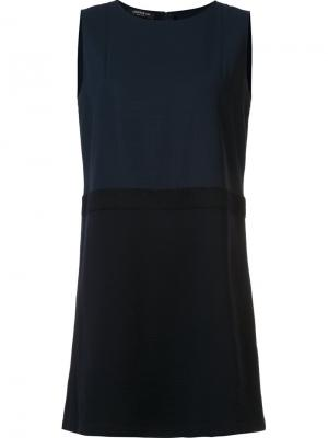 Расклешенное платье без рукавов Lafayette 148. Цвет: синий