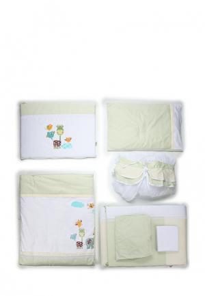 Постельное белье Сонный Гномик. Цвет: бежевый