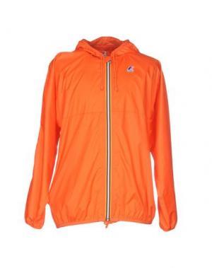 Куртка K-WAY. Цвет: оранжевый
