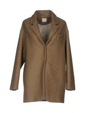 Пальто JEY COLE MAN. Цвет: светло-коричневый