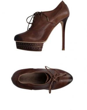 Обувь на шнурках ENIO SILLA for LE. Цвет: коричневый