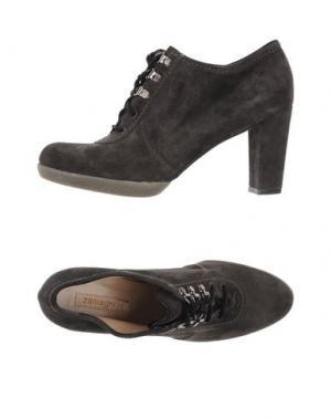 Обувь на шнурках ZAMAGNI. Цвет: свинцово-серый