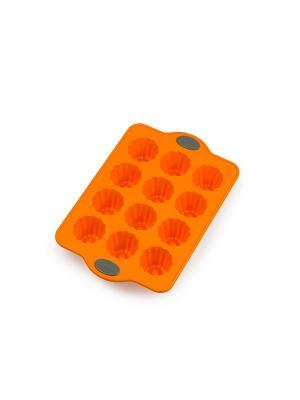 Форма для выпечки OURSSON. Цвет: оранжевый