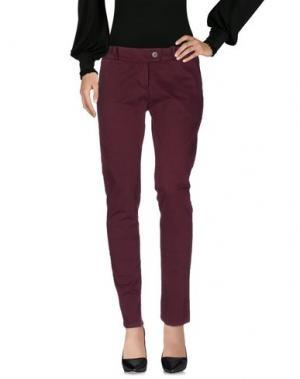 Повседневные брюки INGRAM. Цвет: красно-коричневый