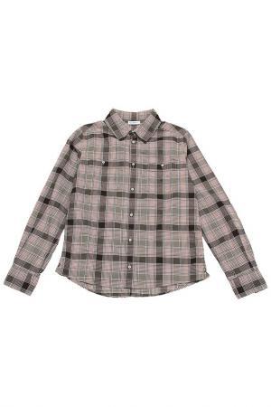 Рубашка DOLCE & GABBANA. Цвет: клетка