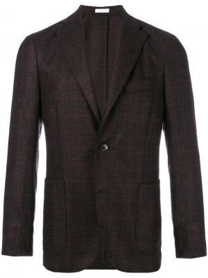 Тканый пиджак Boglioli. Цвет: розовый и фиолетовый