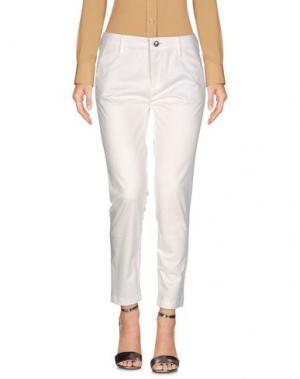 Повседневные брюки CAFèNOIR. Цвет: белый