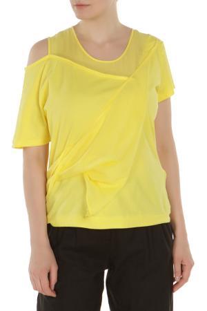 Джемпер Oblique. Цвет: желтый