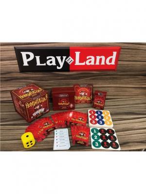 Настольная игра Номинация Лучший Артист PLAY LAND. Цвет: темно-бордовый, темно-красный