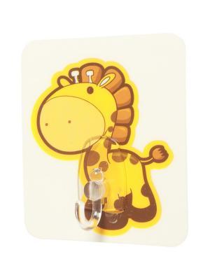 Крючки Жираф DAVANA. Цвет: светло-коричневый, светло-оранжевый