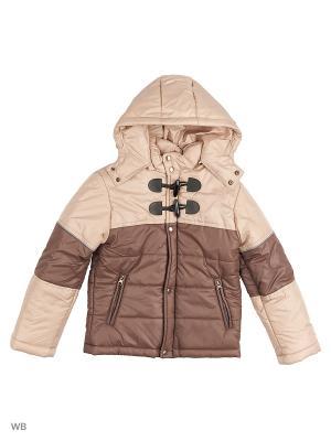 Куртки Senso kids. Цвет: темно-бежевый