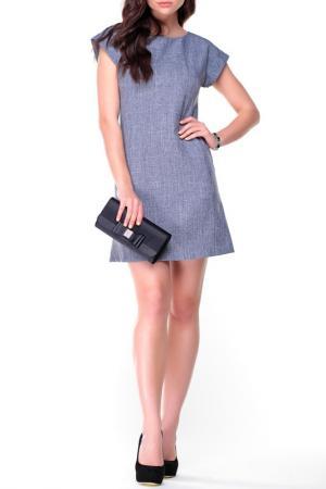 Платье REBECCA TATTI. Цвет: дымчатый