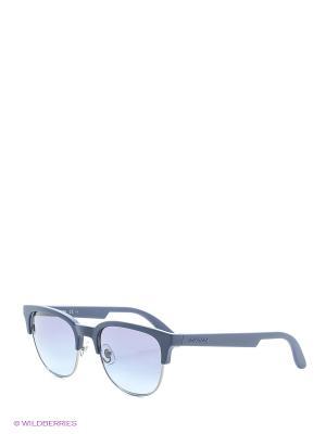 Солнцезащитные очки CARRERA. Цвет: черный, голубой