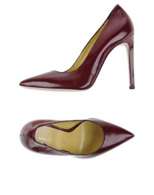 Туфли MAURO FEDELI. Цвет: красно-коричневый