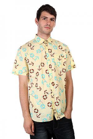 Рубашка  Ahoy Paloi Yellow Lost. Цвет: желтый