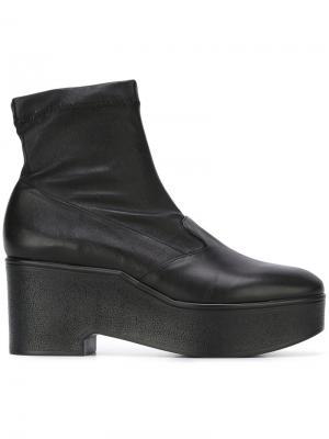Ботинки по щиколотку Robert Clergerie. Цвет: чёрный