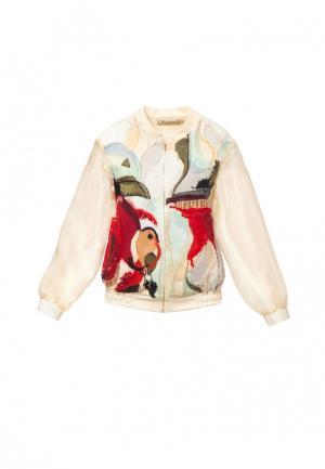 Куртка Yukostyle. Цвет: бежевый