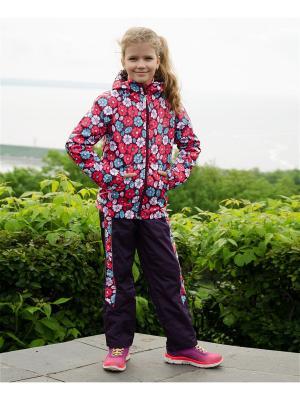 Куртка-ветровка МИКИТА. Цвет: фиолетовый