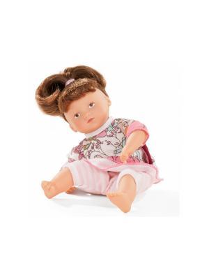Кукла Мини-маффин, шатенка GOTZ. Цвет: розовый