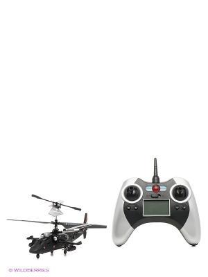 Радиоуправляемый вертолет От винта. Цвет: черный, серый