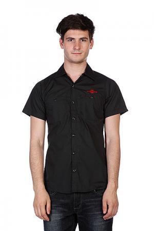 Рубашка  Daily Grind Black Independent. Цвет: черный