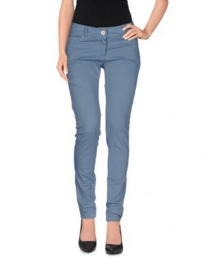 Повседневные брюки SARAH JACKSON. Цвет: грифельно-синий