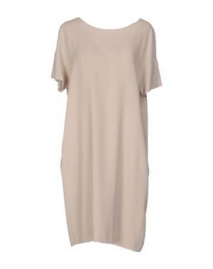 Платье до колена ANTONELLI. Цвет: песочный
