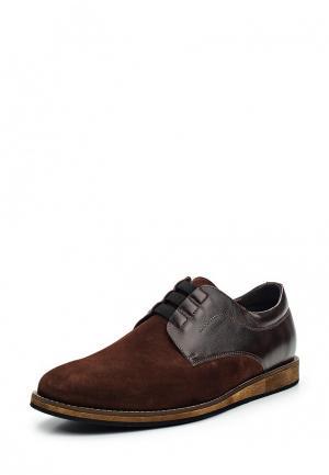 Туфли Conhpol Dynamic. Цвет: коричневый