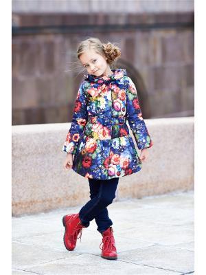 Пальто I love to dream. Цвет: синий