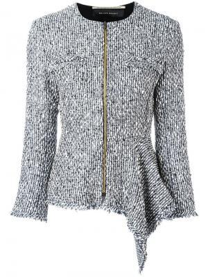 Пиджак Delen Roland Mouret. Цвет: серый
