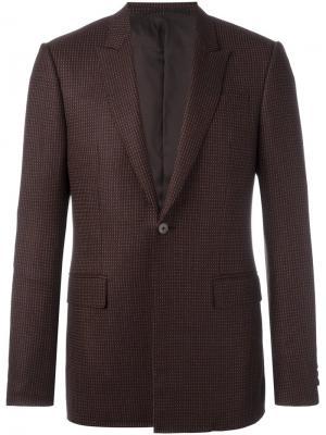 Блейзер с узором Givenchy. Цвет: коричневый