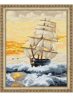Картина по номерам Навстречу горизонту 7C-0008 Мосфа. Цвет: белый