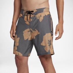 Мужские бордшорты Hurley Beachside Swarm 45,5 см Nike. Цвет: оранжевый