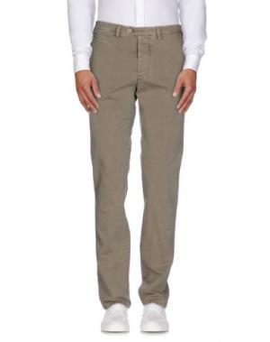 Повседневные брюки PIATTO. Цвет: серый