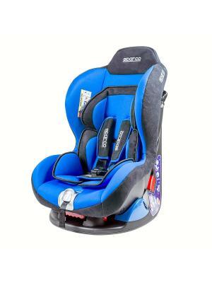Детское кресло Sparco F5000K BL. Цвет: синий