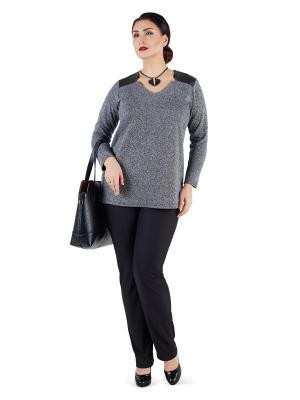 Кофточка Darissa Fashion. Цвет: серый
