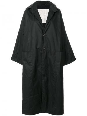 Пальто Doorman Toogood. Цвет: чёрный